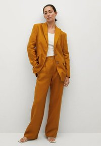 Mango - PERTH-I - Blazer - rouge-orangé - 1