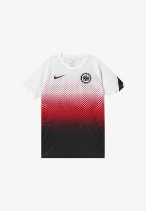 EINTRACHT FRANKFURT - Klubové oblečení - white/black