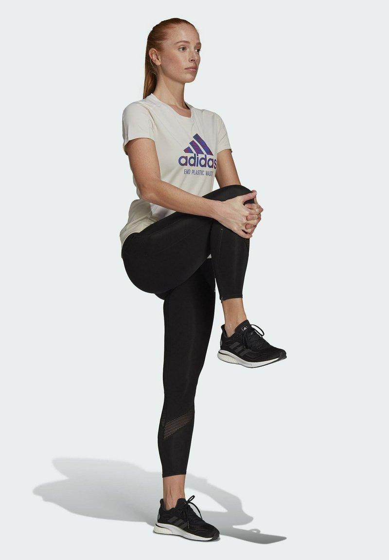 adidas Performance - Print T-shirt - sand