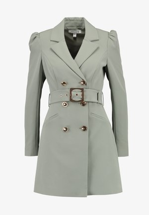 BERNADETTE BELTED BLAZER DRESS - Vestido informal - khaki