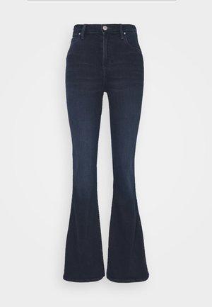 BREESE - Široké džíny - blue black denim