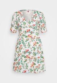 SUMMER FITFLARE DRESS - Denní šaty - hawaii