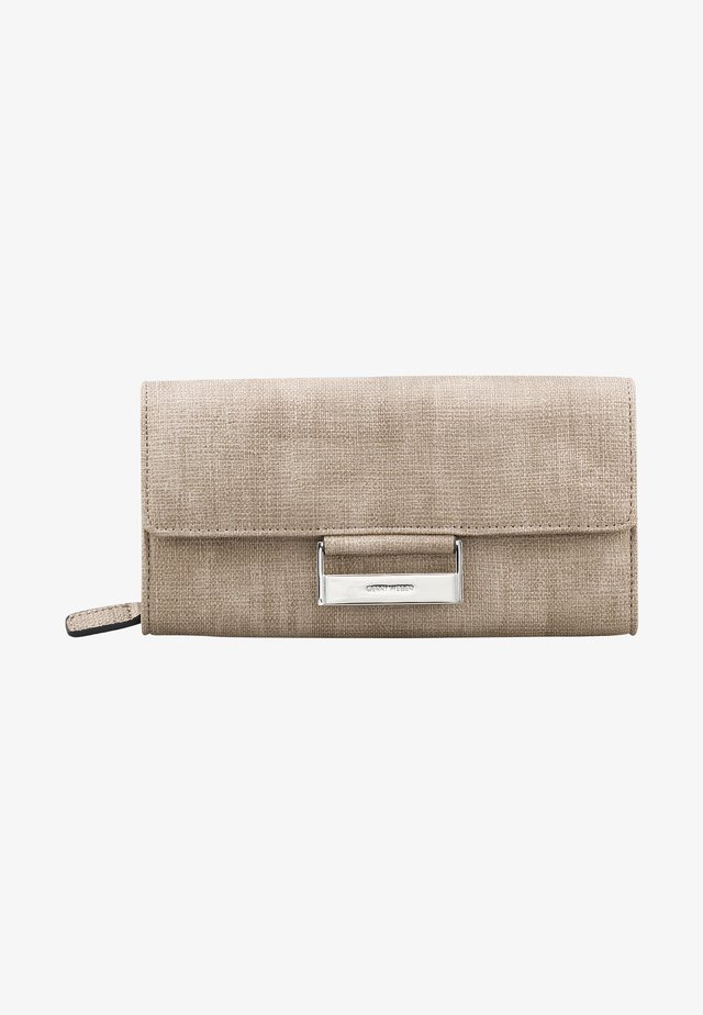 Wallet - taupe