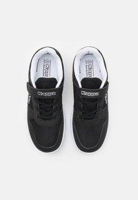 Kappa - UNISEX - Sports shoes - black/white - 3