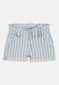 Vingino - DALMINE - Denim shorts - blue/white - 0