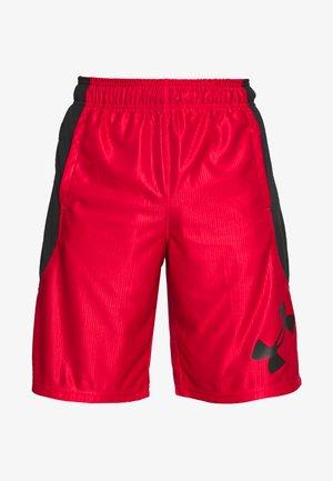 Sports shorts - red/black