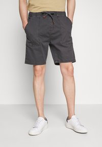 INDICODE JEANS - THISTED - Shorts - dark grey - 0