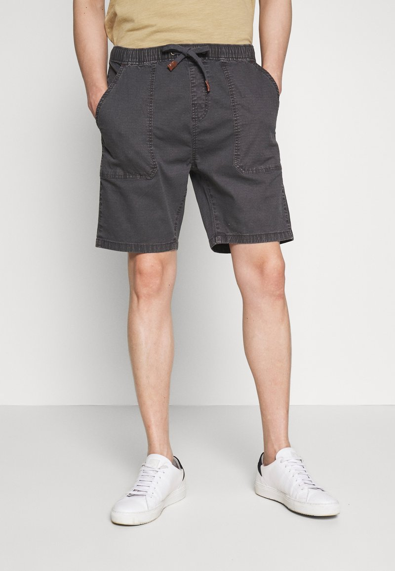 INDICODE JEANS - THISTED - Shorts - dark grey