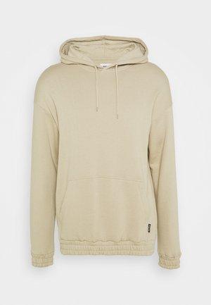 BOTTOM HOODIE  - Sweatshirts - taupe