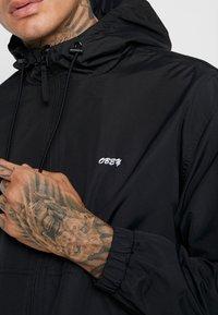 Obey Clothing - CAPTION JACKET - Kurtka wiosenna - black - 5
