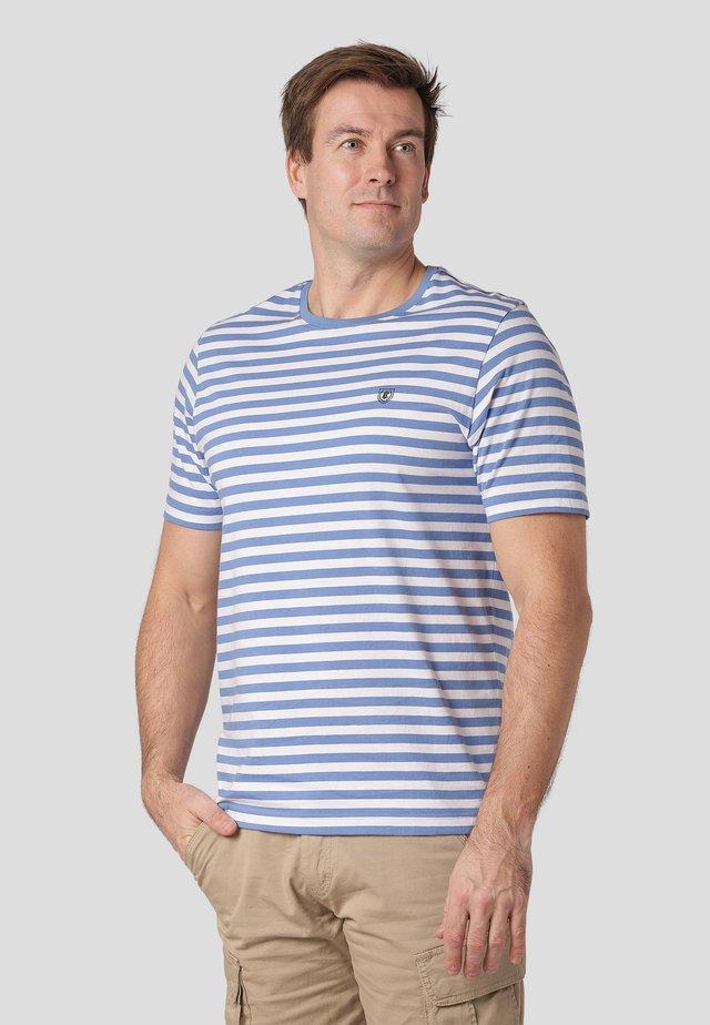 NORTH - Print T-shirt - summer blue