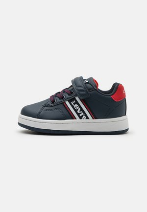 BRANDON  - Trainers - navy/red