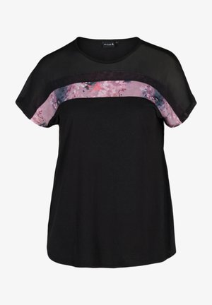 PRINTDETAILS - T-shirt con stampa - black