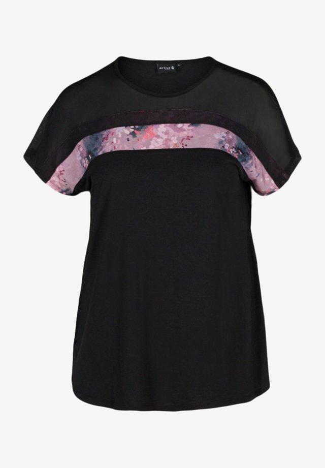 PRINTDETAILS - T-shirt imprimé - black