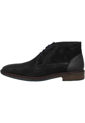 Casual lace-ups - black struct (5-15104-23-006)
