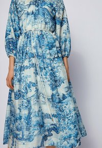 BOSS - DIVILERA - Day dress - blue, white - 4