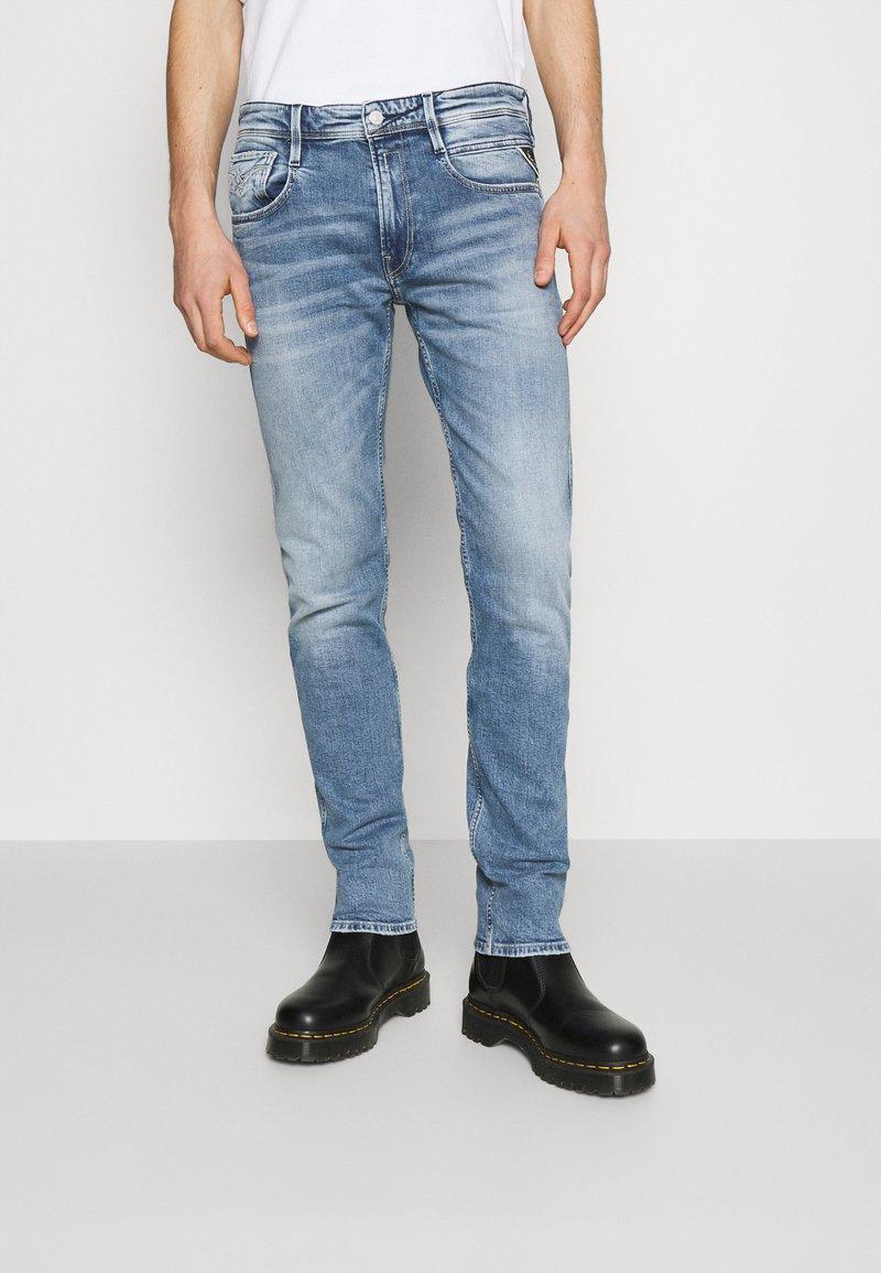 Replay - ANBASS BIO - Jeans slim fit - indigo