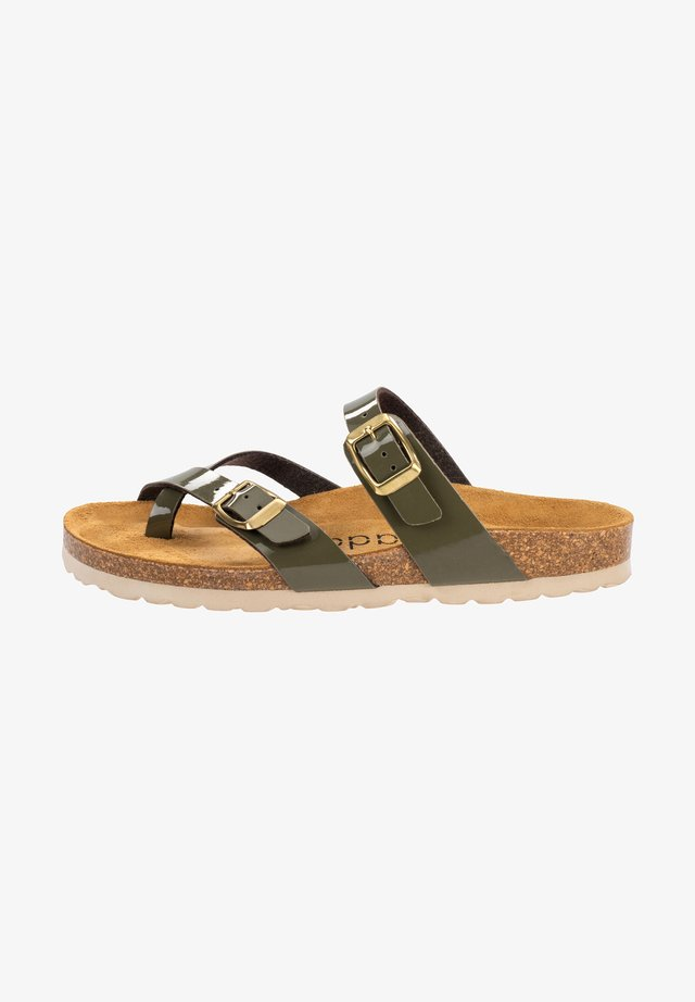 Pool shoes - olive