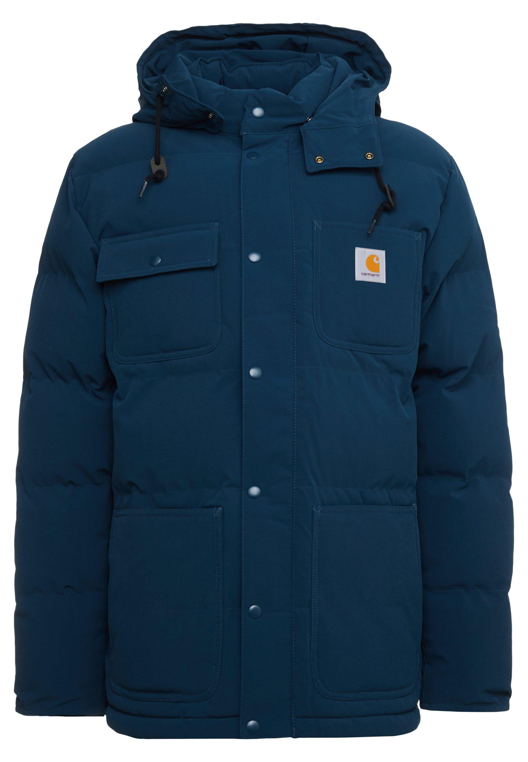 Carhartt Alpine heavyweigt manteau d/'hiver-Marine Foncé//Hamilton Brown RRP £ 255