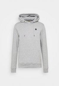 Anerkjendt - AKNIGEL ORGANIC HOODIE - Sweatshirt - light grey melange - 5