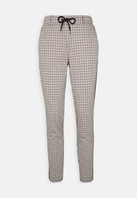 TOM TAILOR - CHECKED PANTS - Trousers - camel - 3