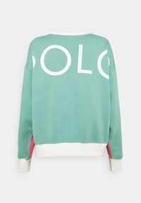 Polo Ralph Lauren - LONG SLEEVE - Mikina - amalfi red/tiki green - 1