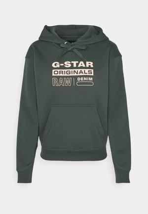 PREMIUM CORE ORIGINALS LOGO HOODIE - Sweatshirt - graphite