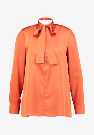 TUNIC WITH BOW - Bluser - reds