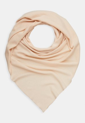 TRIANGLE SCARF - Chusta - powder