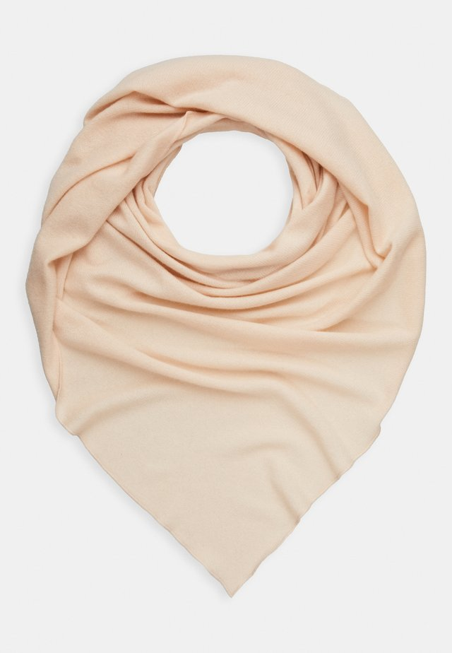 TRIANGLE SCARF - Foulard - powder
