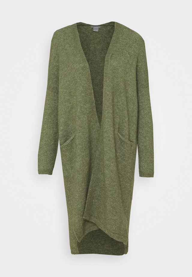 CARDIGAN BEATA - Neuletakki - dusty green