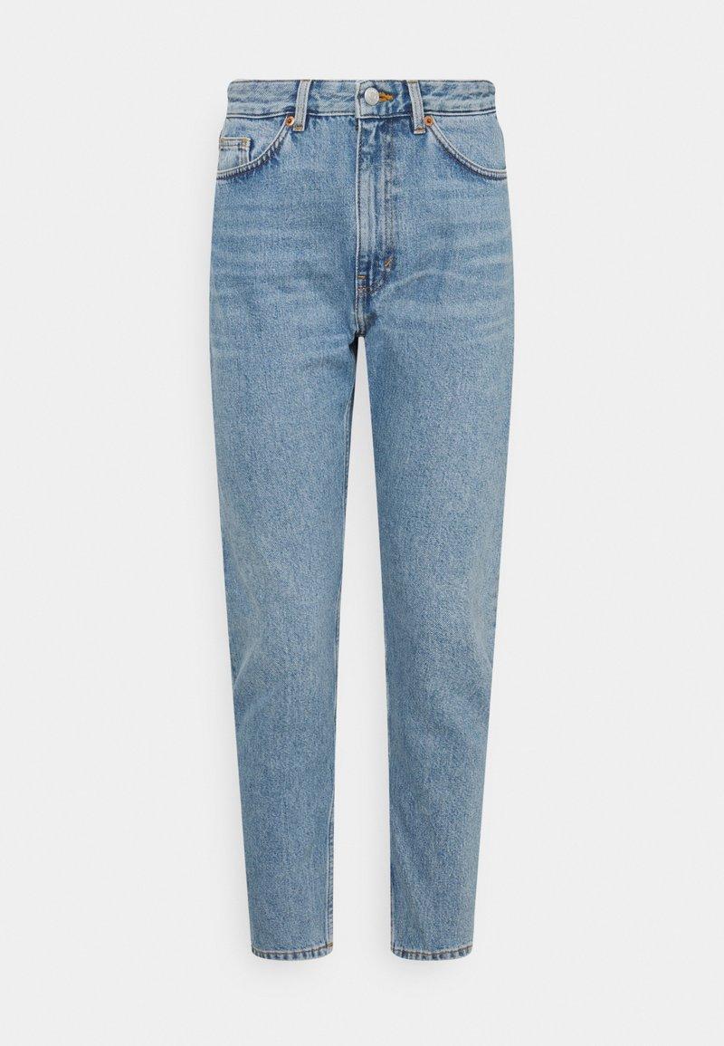 Monki - KIMOMO - Jeans a sigaretta - blue medium dusty
