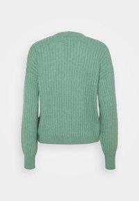 edc by Esprit - CREW CARDI - Cardigan - dusty green - 1