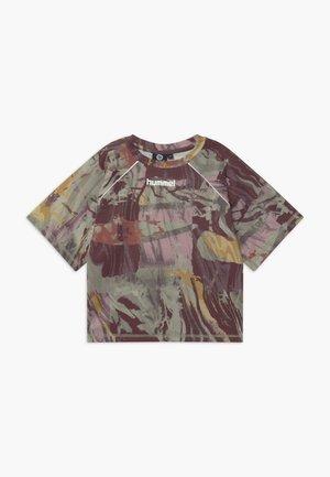 PLENA  - Print T-shirt - vetiver