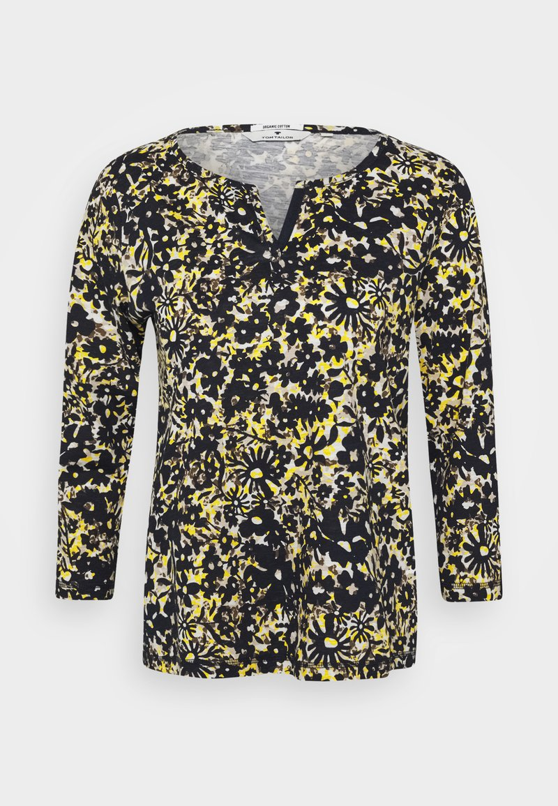 TOM TAILOR - Long sleeved top - yellow