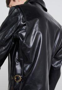 Schott Made in USA - RETRO JACKET - Veste en cuir - black - 4
