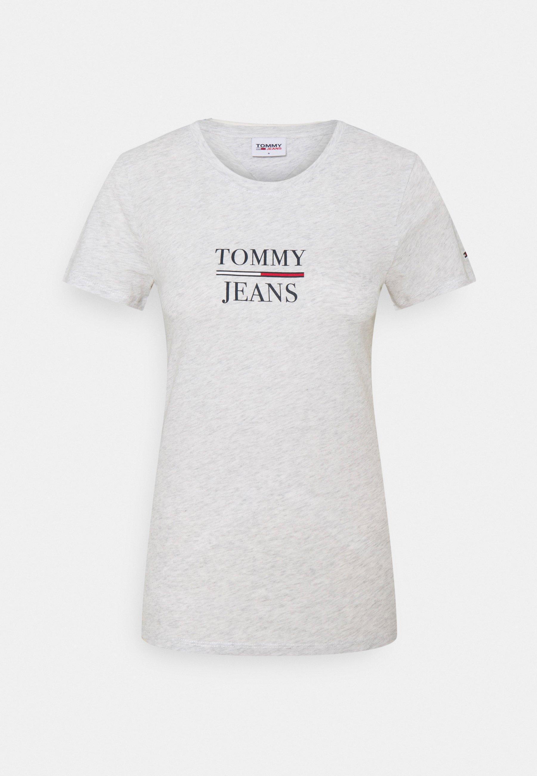 Damen ESSENTIAL - T-Shirt print - silver grey