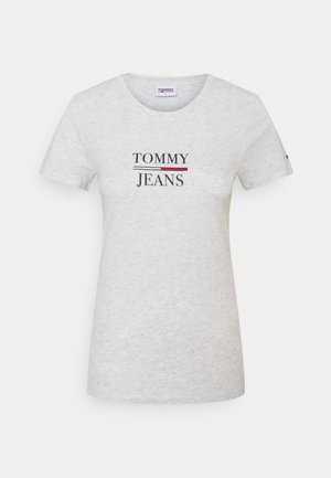 ESSENTIAL - Print T-shirt - silver grey