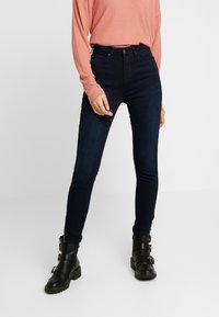 Lee - SCARLETT HIGH ZIP - Jeans Skinny Fit - mulberry - 0
