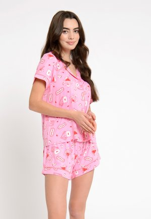 LOVE LETTERS ECO - Pyjama set - pink