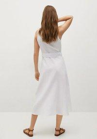Mango - Shirt dress - white - 2