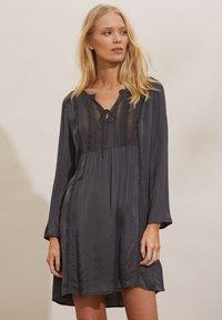 Odd Molly - JULIE - Day dress - asphalt - 0