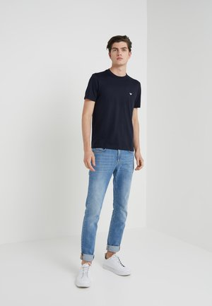 2 PACK - Basic T-shirt - dark blue