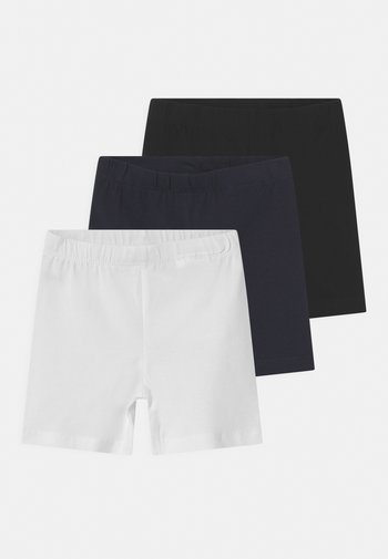 NMFVIVIAN SOLID 3 PACK - Shorts - bright white