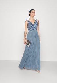 Lace & Beads - ALEXIS MAXI - Společenské šaty - blue - 1
