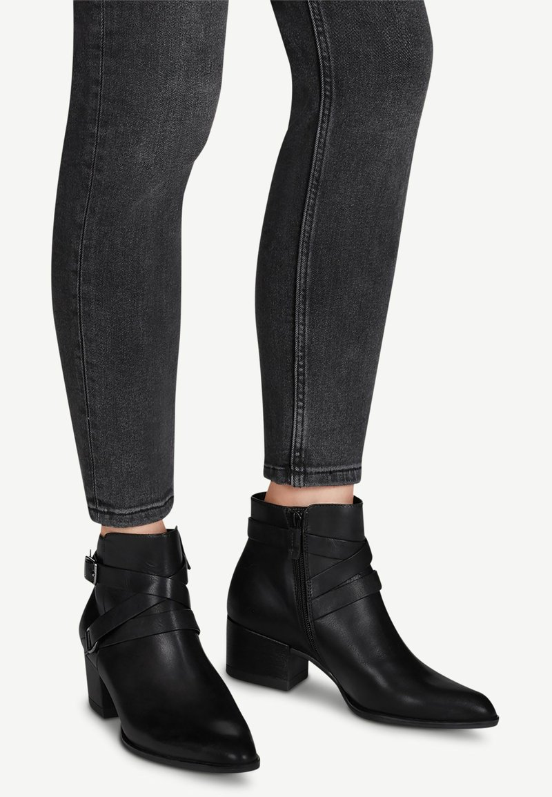 Tamaris - Ankle boots - black