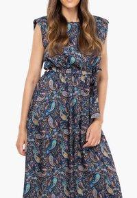Tantra - Maxi dress - azul marino - 3