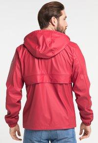 Schmuddelwedda - Waterproof jacket - red - 2