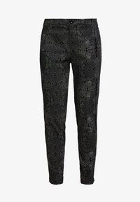 Dranella - DREBEA PANT TESSA FIT - Trousers - black - 3