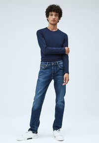 Pepe Jeans - CHEPSTOW - Jean droit - blue denim - 1